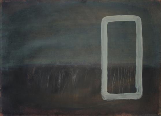 #237, zonder titel100 x 140 cmacrylverf op papier